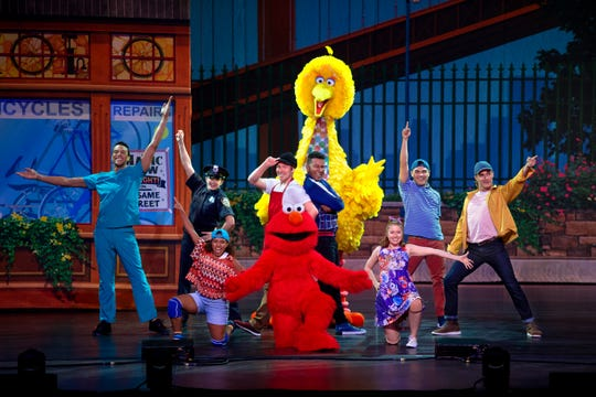 """""""Sesame Street Live! Make Your Magic"""" is at Harrah's Cherokee Center-Asheville on March 18."""