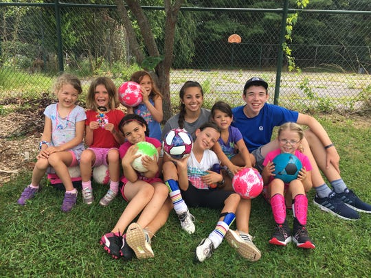 Sparkle Girl Soccer Camp is for ages 6-10 in West Asheville, coached by Molly Dwyer, who plays for Asheville City Soccer.