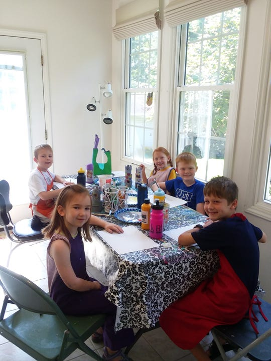 Molly Angel offers two different art day camps.
