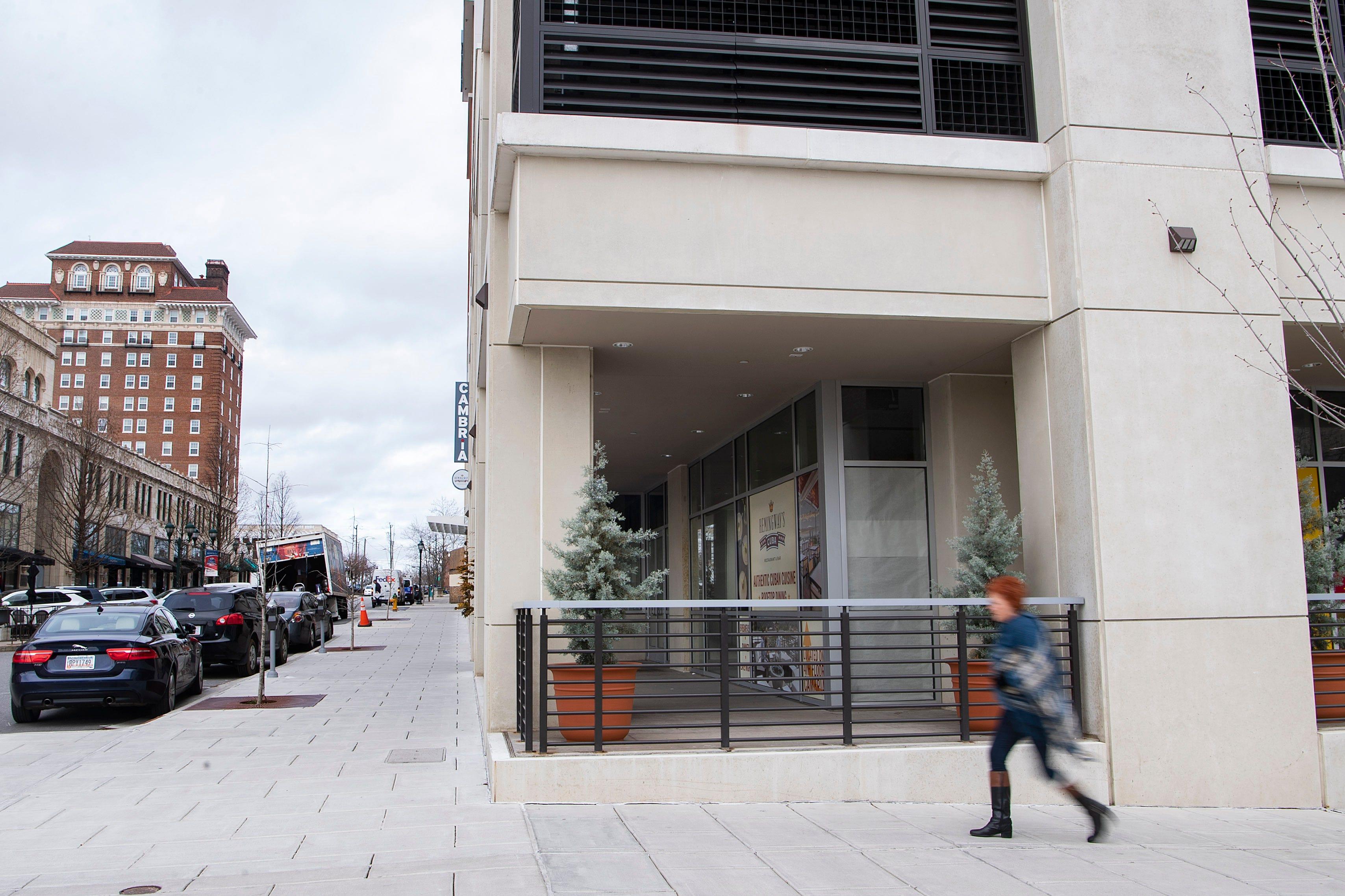 Asheville S Cambria Hotel To Get A Sidewalk Level Spanish Restaurant