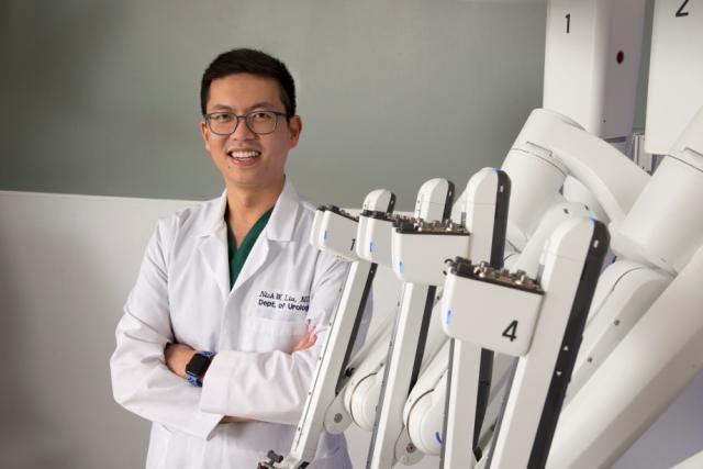 Nick Liu, MD, urologist at Upstate Urology of UHS.