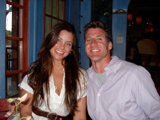 Brittany Maynard, left, and her husband, Dan Diaz, made the decision to move to Oregon, which has a Death with Dignity law, after she was diagnosed with terminal brain cancer in early 2014. She died Nov. 1, 2014, and Diaz campaigns nationwide for right-to-die laws.