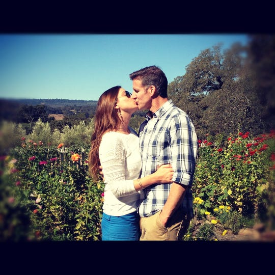Brittany Maynard, left, and her husband, Dan Diaz, were married Sept. 29, 2012. They made the decision to move to Oregon, which has a Death with Dignity law, after Maynard was diagnosed with terminal brain cancer in early 2014. She died Nov. 1, 2014, and Diaz campaigns nationwide for right-to-die laws.