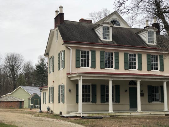 The historic farmhouse at Croft Farm in Cherry Hill will now be a work space for recreation staff members, who can help visitors with program questions and offer short tours. The pale green building in the background is one of four new studio classrooms constructed on the site.