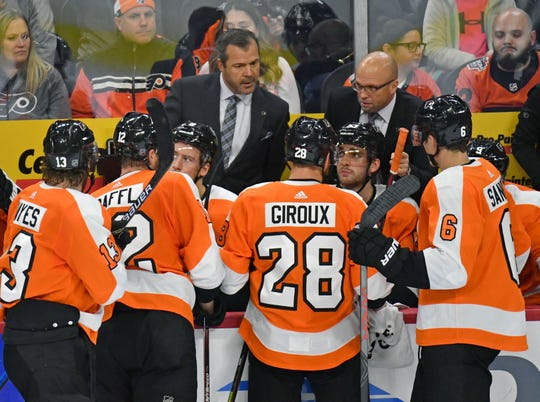 Alain Vigneault, in his first season as coach of the Flyers, has put the spotlight on a leadership group that has taken some heat over recent years.