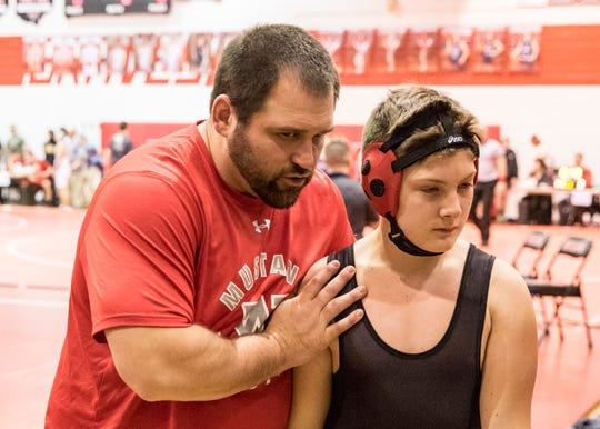 Westfall's Will Breyer was named Coach of the Year for the 2019-2020 Scioto Valley Conference All-League Wrestling Team.