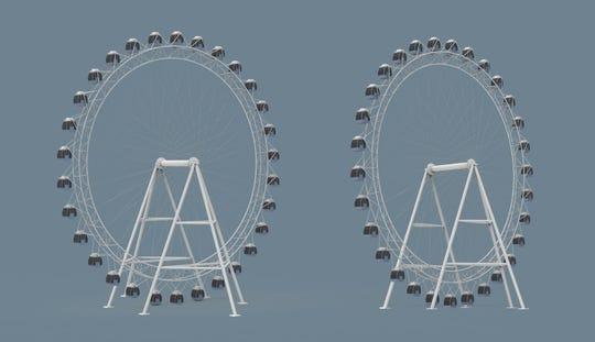 rendering of the new SkyStar wheel