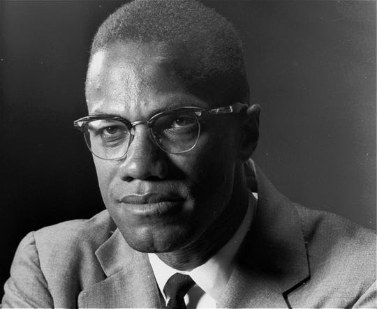 Malcolm X, the Black Muslim leader, is photographed in New York on March 5, 1964.