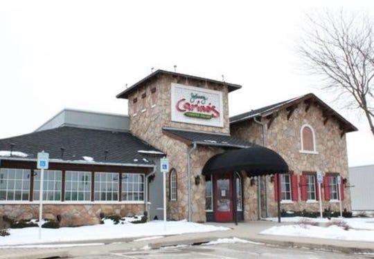 Johnny Carino's located at 3015 West Shore Drive in Holland closed Feb. 17.