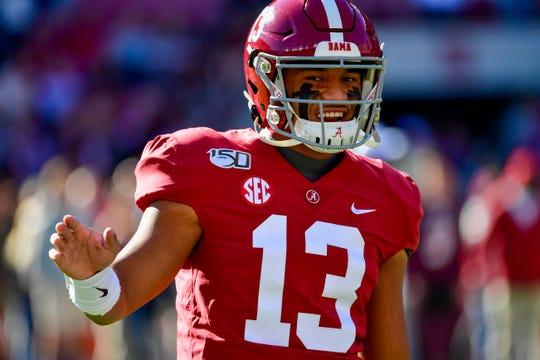 In the ESPN draft expert's second NFL mock draft, Mel Kiper Jr. has the Lions selecting Alabama quarterback TuaTagovailoa.