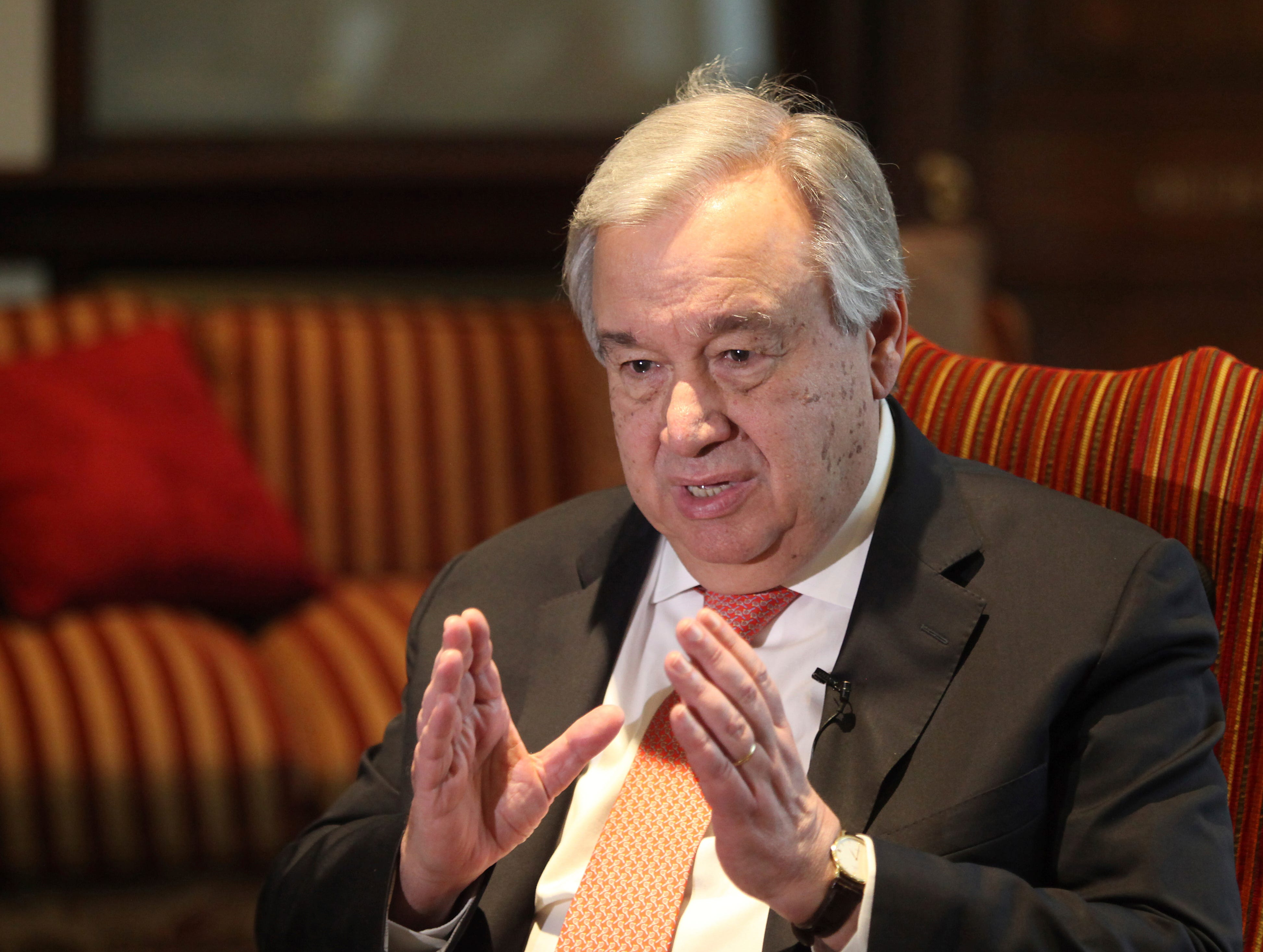 UN chief says new virus poses enormous risks