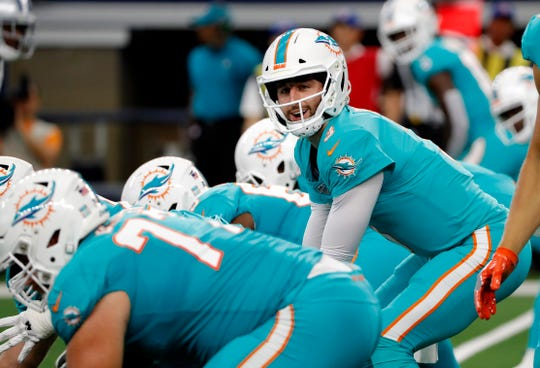 Quarterback Josh Rosen has struggled in his first two seasons in the NFL, playing for two different teams.