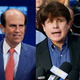 Financier Michael Milken, left, former Illinois Gov. Rod Blagojevich, center, and former NYPD commissioner Bernie Kerik. The three were a part of President Donald Trump's clemency blitz on Tuesday, Feb. 18, 2020. Trump granted clemency to Milken, commuted the rest of Blagojevich's 14-year sentence and pardoned Kerik.