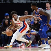Pistons guard Langston Galloway is a veteran who could return to the team next season because of what he brings on and off the court.