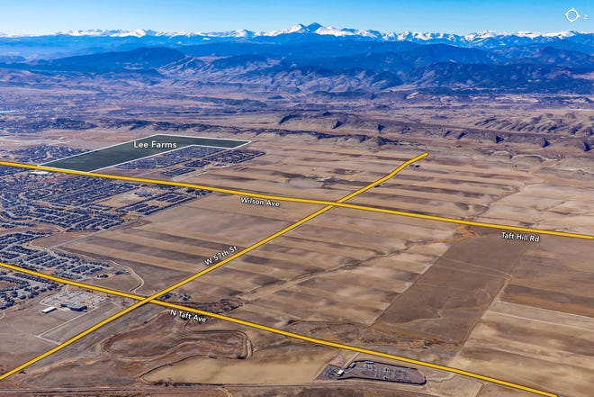 Walton, a real estate company that bought 245 acres of Lee Farms in Loveland, above, has purchased 135 acres near Campion and South Lincoln Avenue in Loveland.