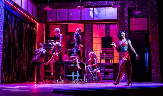 """A scene from Broadway Palm's """"Kinky Boots."""""""