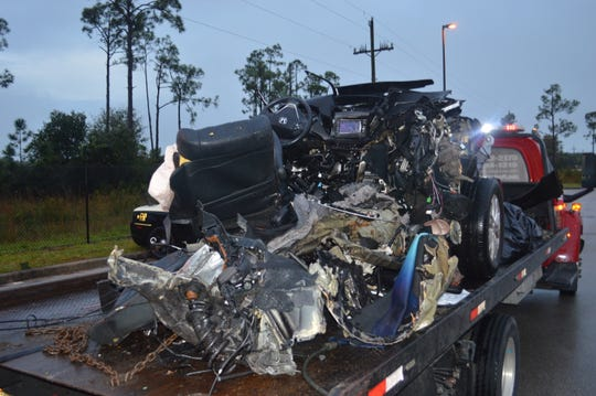 The driver of a van that crashed Dec. 18, splitting in pieces and killed a passenger, has been charged with manslaughter driving under the influence. Andy Gonzalez, 23, of Lehigh Acres, was driving a 2013 Honda CRV east on Lee Boulevard at a high rate of speed when he drove off the road and hit two trees.