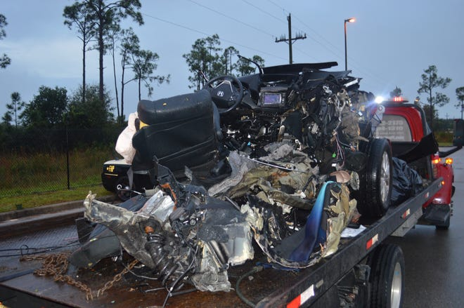 """The driver of a van that crashed Dec. 18, 2019, splitting in pieces and killing a passenger, was charged with manslaughter driving under the influence. A Florida Highway Patrol """"wolfpack"""" detail Thursday and Friday will try to identify and remove impaired drivers from Lee and Collier roads."""