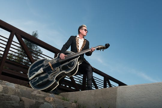 Lee Rocker of The Stray Cats