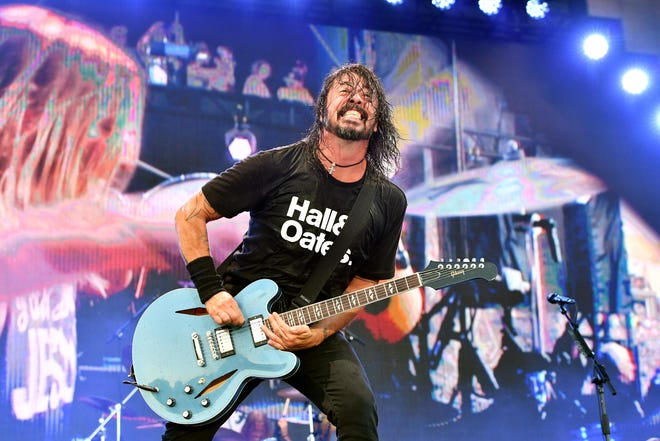 Dave Grohl of Foo Fighters performs during the 2019 Pilgrimage Music & Cultural Festival in Franklin, Tennessee.