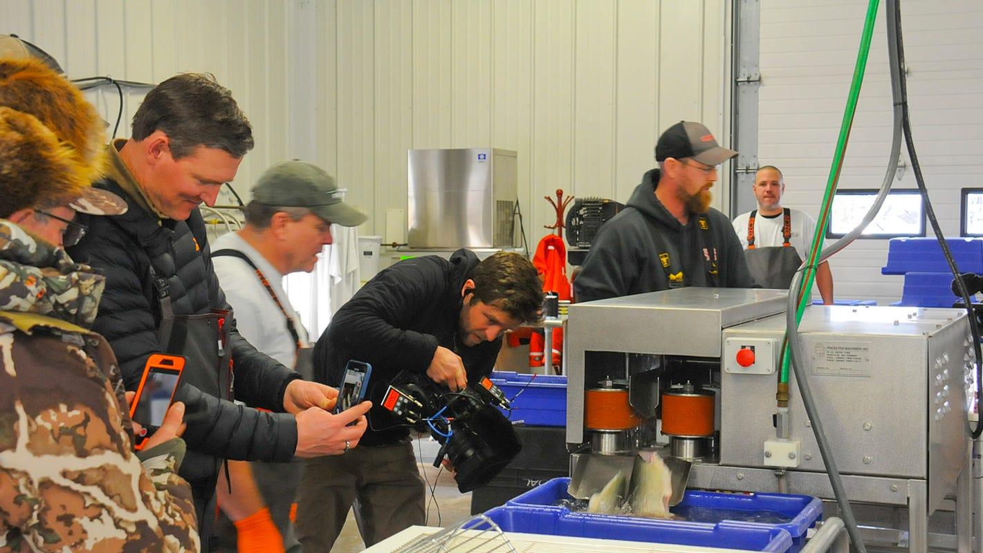 Door County Ice Fishing Culture Feature Of Outdoor Video