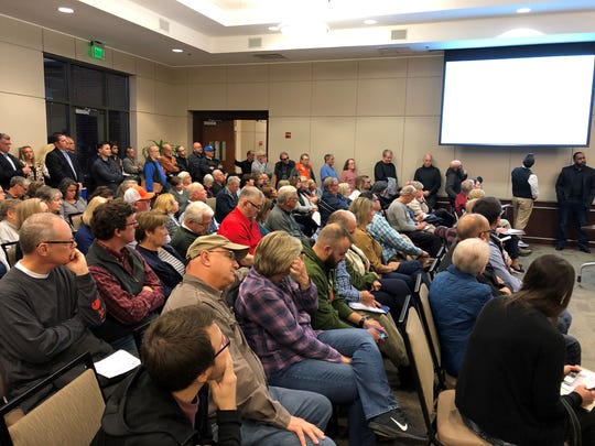 Greer residents voiced concerns about a proposal to build an apartment community on Gibbs Shoals Road