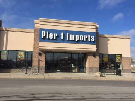 Pier 1 Imports in Great Falls is one of three Montana locations the company will close after announcing it had filed for bankruptcy on Monday.