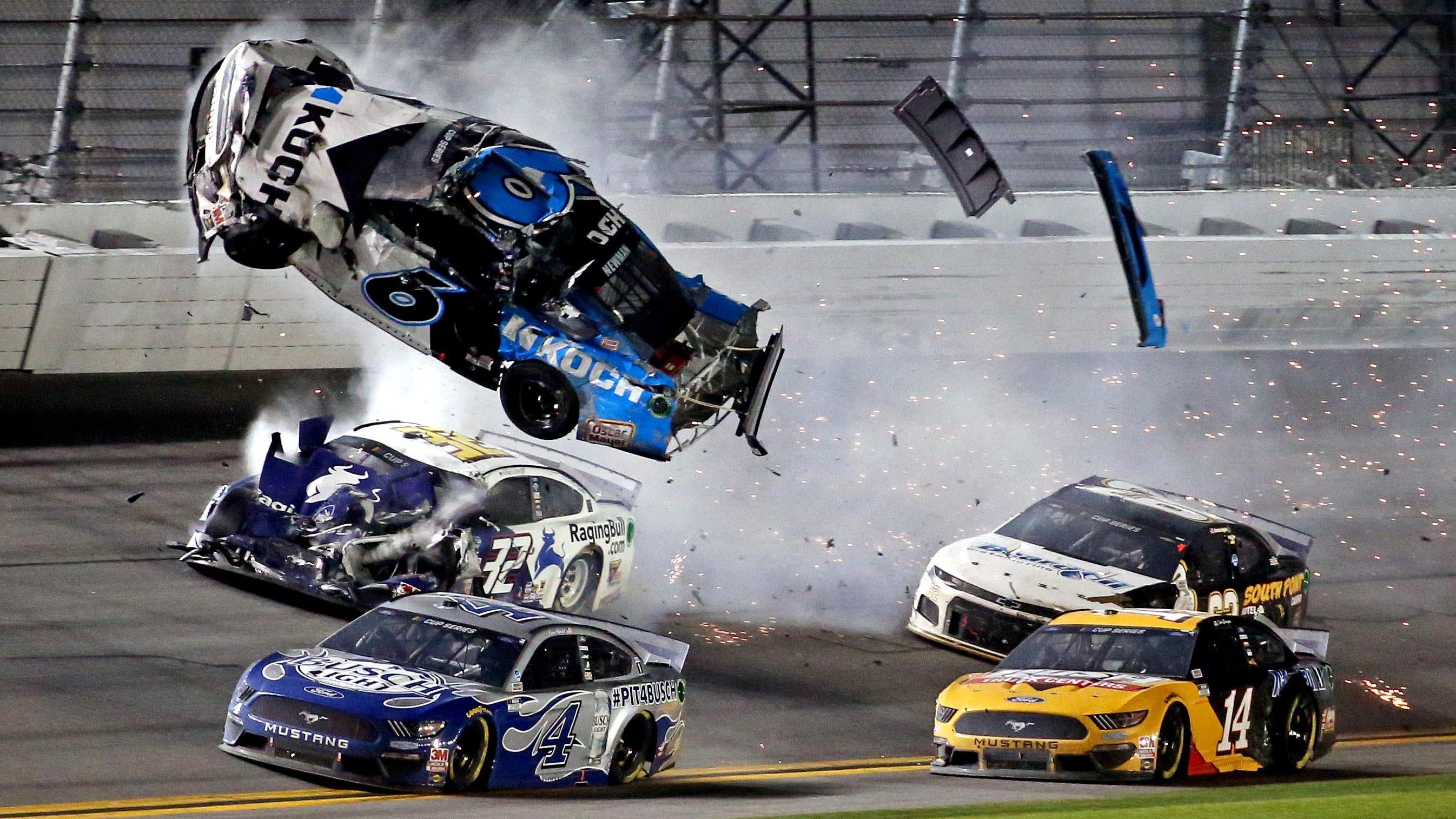 Ryan Newman S Daytona 500 Crash Has Nascar Indycar Drivers Concerned