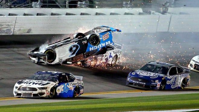 Nascar Daytona 500 Finishes With Hard Crash Involving Hoosier Ryan Newman
