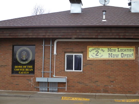 The outside of Hamburg Inn No.2's east side location at 2221 Rochester Ave. on Feb. 17, 2020, the day after the restaurant's was last open on the east side of Iowa City.
