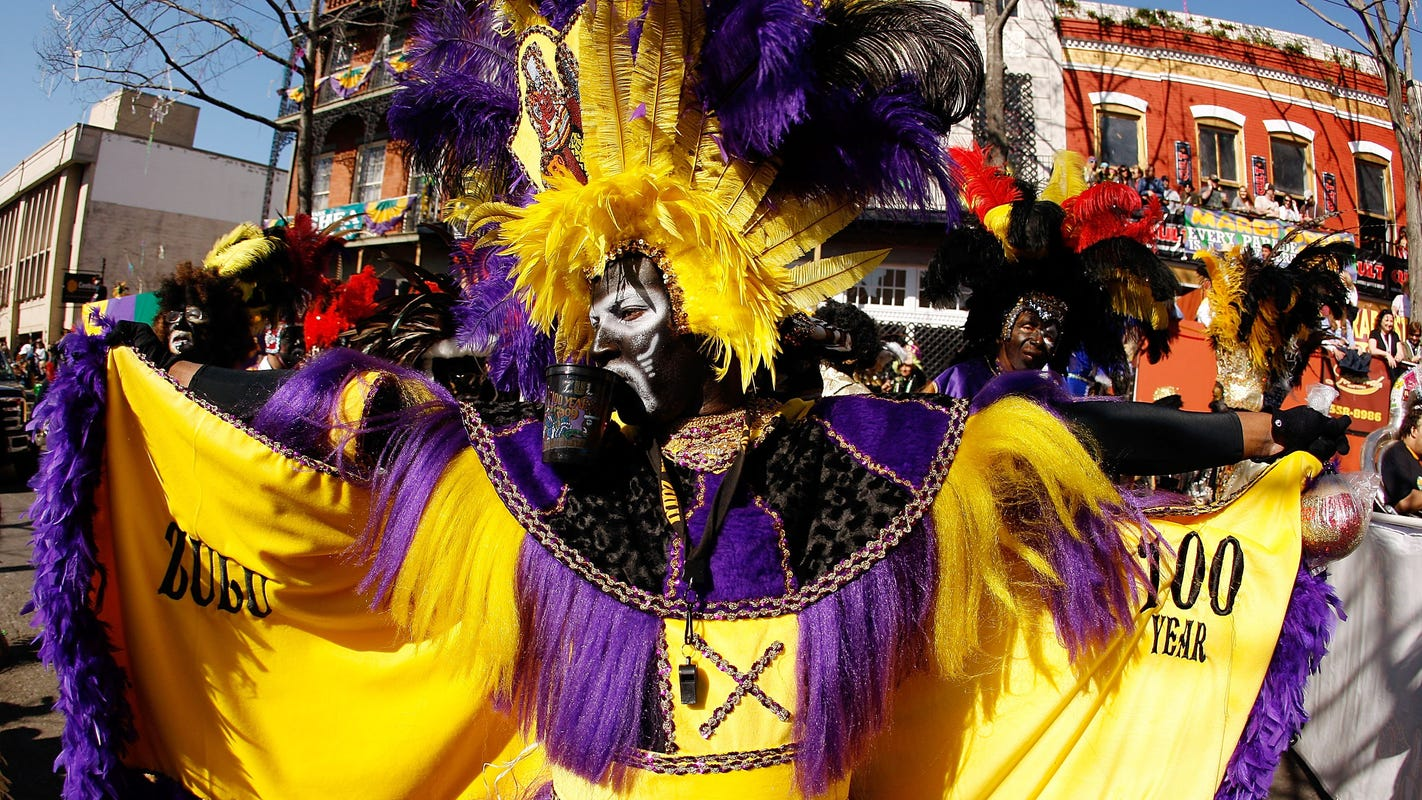 Mardi Gras Celebrate With Zulu Parade Rex The King Of Carnival
