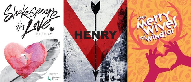 """The 2020 Kentucky Shakespeare Festival will include """"Shakespeare in Love,"""" """"Henry V,"""" and """"The Merry Wives of Windsor."""""""