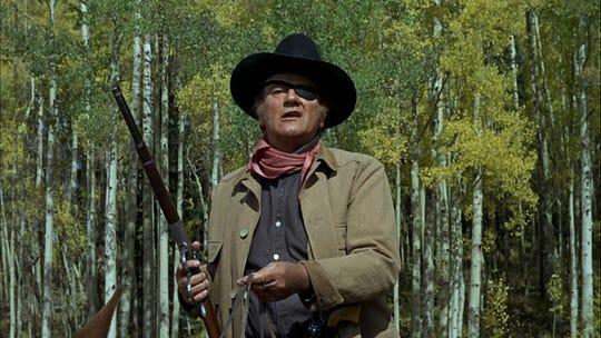 """John Wayne as Rooster Cogburn in """"True Grit."""""""