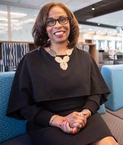 """""""I think we've got to give more African Americans and people of color an opportunity to succeed,"""" says Lynne Walker, executive vice president for affinity strategy at First Horizon."""