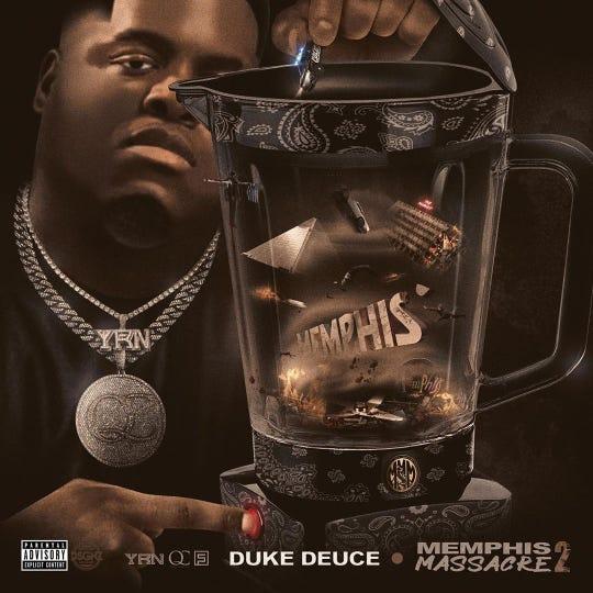 """Duke Deuce's """"Memphis Massacre 2"""" will be released Feb. 19."""