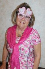 Linda Sobolewski has glasses for every holiday.
