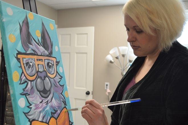 Stacey Ball of Waukesha fell in love with art on a family trip to Disney-MGM Studios, now called Disney's Hollywood Studios, when she was 10.
