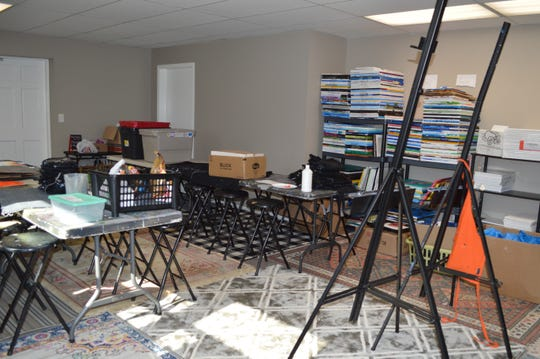 Stickman Painting Studio's own space will be opening March 8 at 21001 Watertown Road, Waukesha. Owner Stacey Ball is still working on getting the studio ready.