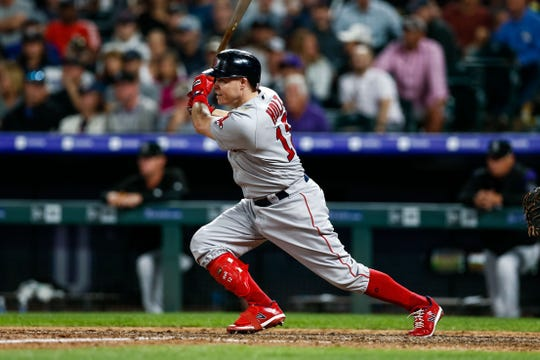 The Brewers agreed to a deal with utilityman Brock Holt on Monday. Holt hit .297 with three homers and 31 RBI in 259 at bats with the Red Sox last season.