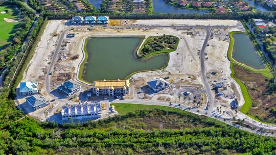 The Flamingo Club and multiple style homes are under construction at Antilles.
