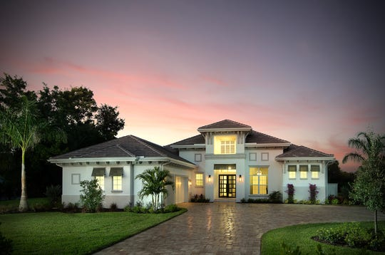 The 4,000-square-foot residence at 603 West Street in Pine Ridge Estates is complete and listed at $3,445,000 furnished.