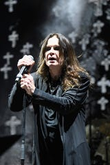 Ozzy Osbourne   Getty Images LOS ANGELES, CA - SEPTEMBER 24:  Ozzy Osbourne of Black Sabbath performs at Ozzfest 2016 at San Manuel Amphitheater on September 24, 2016 in Los Angeles, California.  (Photo by Frazer Harrison/Getty Images for ABA)