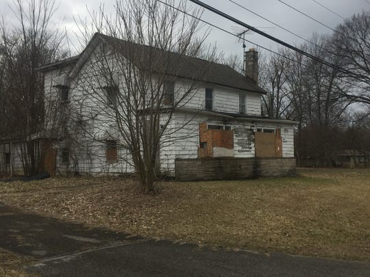 This derelict property on Main Street in the Reynoldsburg portion of Etna Township is on the Licking County Land Bank's list for demolition soon.