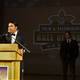 Filmmaker Kody Dayish addresses the crowd Feb. 16 at the Scottish Rite Temple in Santa Fe during an induction ceremony for the New Mexico Film & Television Hall of Fame.
