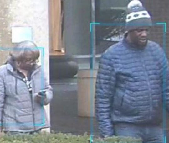 Bloomfield Township police are asking for help identifying this pair wanted for questioning in an ongoing identity theft investigation.