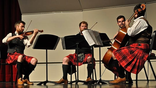 The Maxwell Quartet, featuring George Smith, Colin Scobie, Elliot Perks and Duncan Strachan, played passionately.