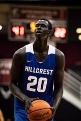 Hillcrest Prep's Makur Maker could go straight to the NBA after finishing his high school career.