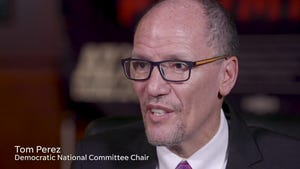 Democratic National Committee Chair Tom Perez speaks about the Democratic Party's presence in Arizona.
