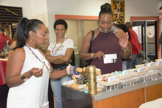 It wasn't until I went to Archwood Exchange's Buy Black Marketplace, which I found through a Facebook group, that I finally felt like I was home. The store and its monthlyfarmers market featuredozens of black-owned businesses.