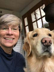 Silverton's dynamic truffling duo, Caroline Lindstedt and her fungal-finding golden retriever, Maddie